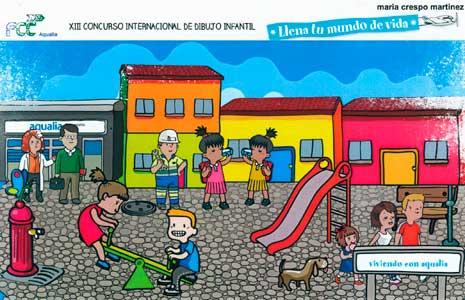 Dibujo de María Crespo