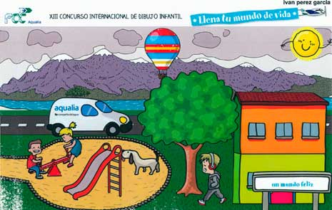 Dibujo de Iván Pérez