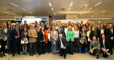 Entidades galardonadas en 'Territorios Solidarios 2014'