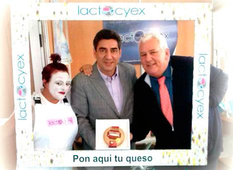Acción promocional en la pasada Feria del Queso de Trujillo. Foto: Cedida