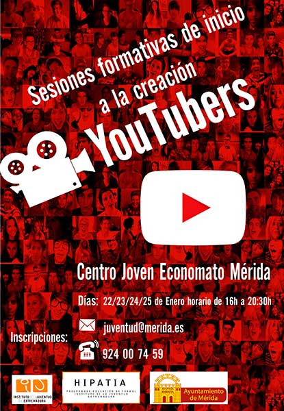 Mérida - Instituto de la Juventud - Youtubers