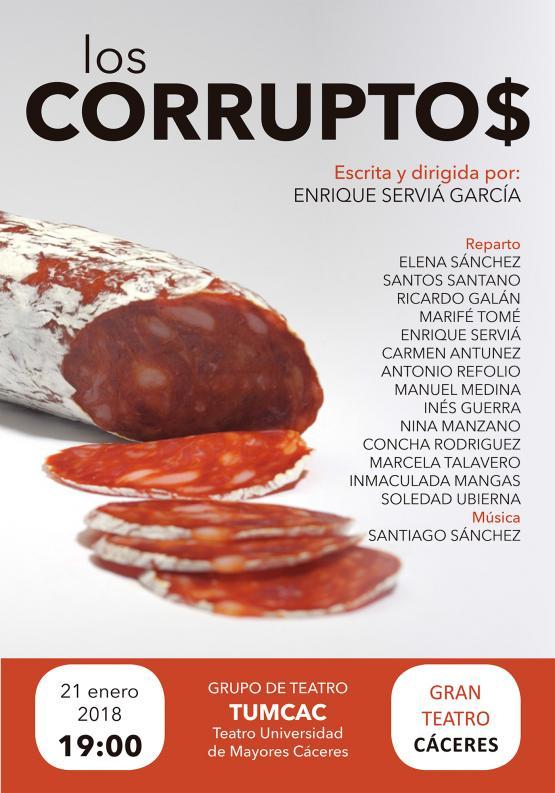 Gran Teatro de Cáceres - Los Corruptos - Banco de Alimentos