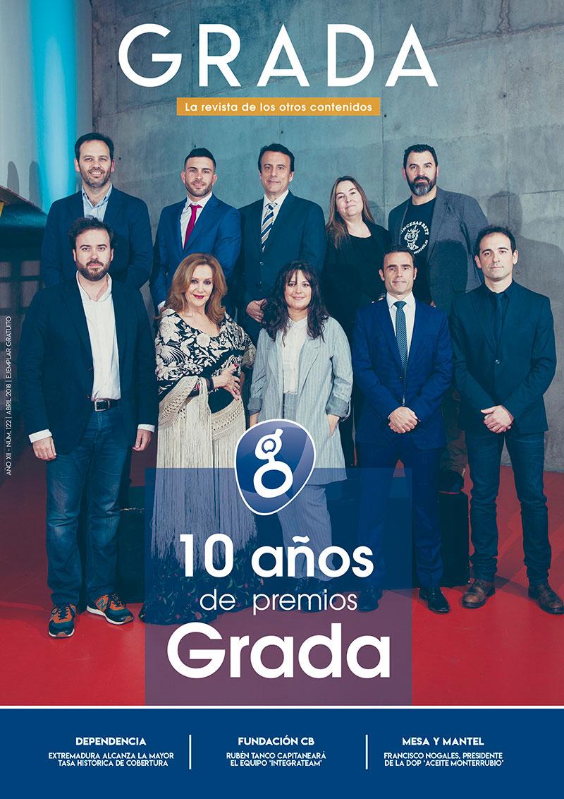 10 años de Premios Grada. Grada 122. Portada