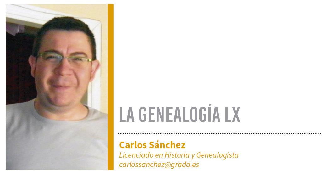 Genealogía LX. Grada 122. Carlos Sánchez