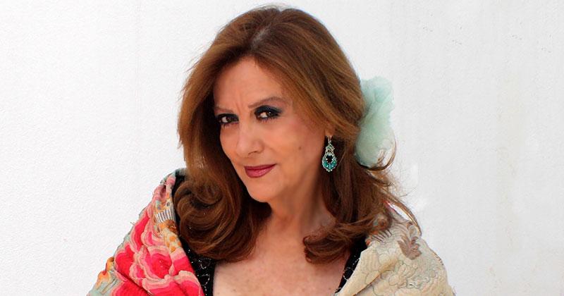 Actuación de Olga María Ramos en los X Premios Grada