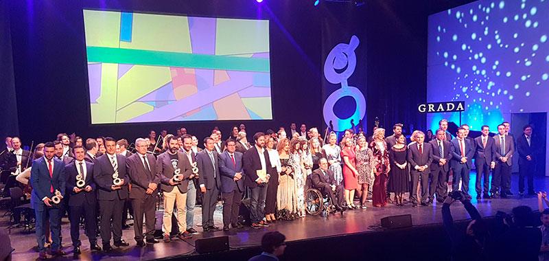 La inclusión y la emoción protagonizan los X Premios Grada