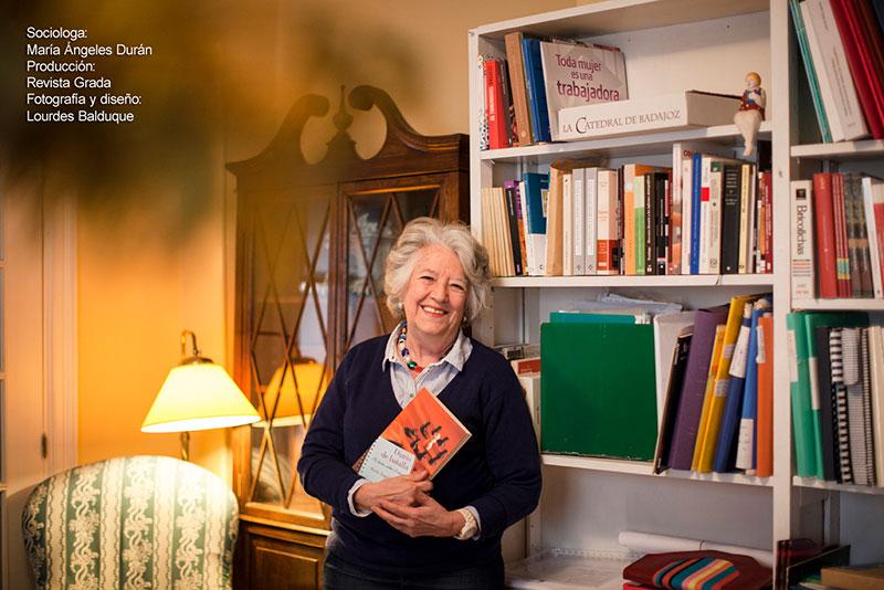 María Ángeles Durán. Pionera del feminismo académico español. Grada 123. Perfil