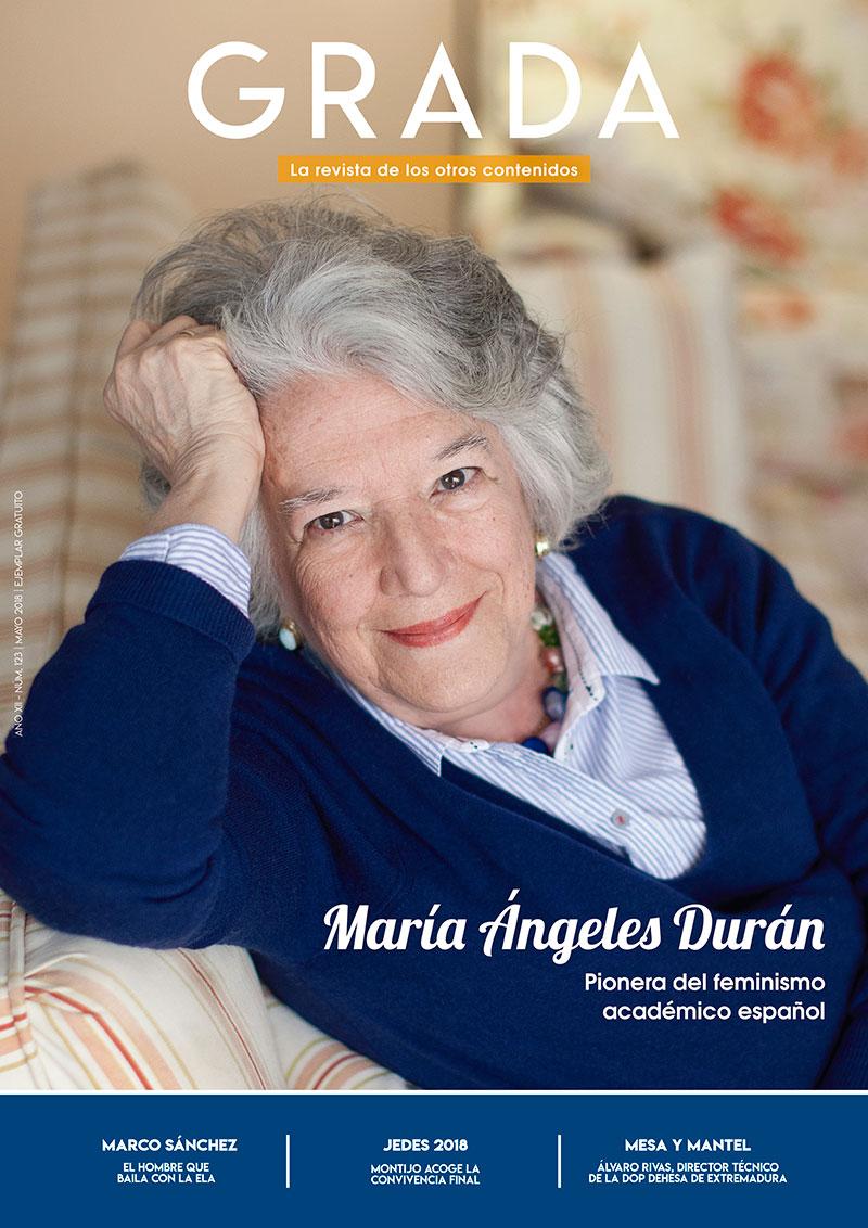 María Ángeles Durán. Pionera del feminismo académico español. Grada 123. Portada