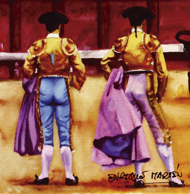 San Isidro: lejano primer mano a mano y próximo primer cartel con seis matadores. Grada 123. Toros