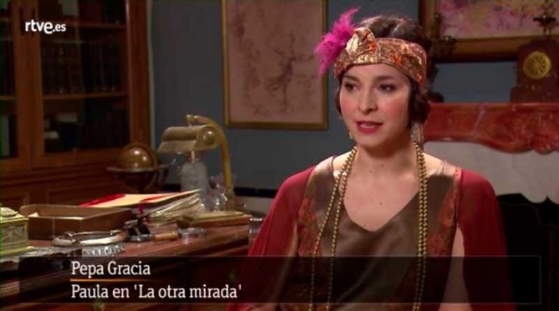 La extremeña Pepa Gracia protagoniza la serie de Televisión Española 'La otra mirada'