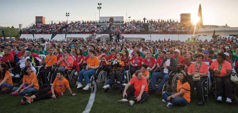 Los Jedes 2018 se despiden en Montijo con una fiesta de deportividad e inclusión
