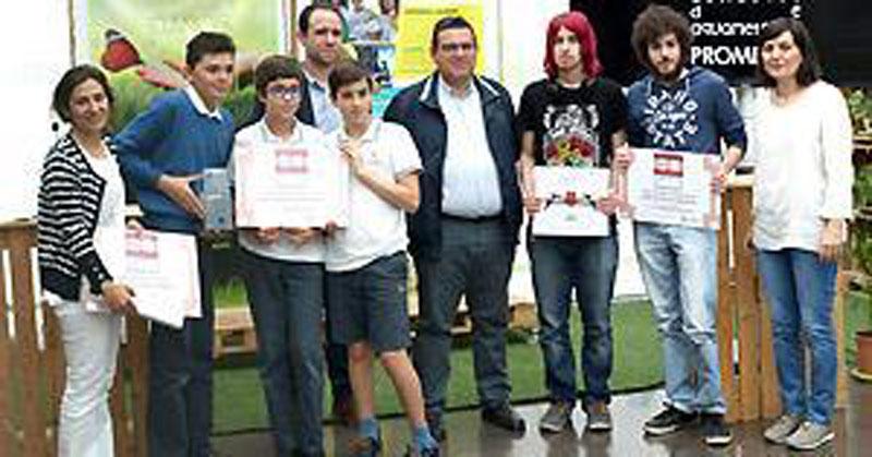 Promedio entrega los premios del concurso 'Aquametrajes'