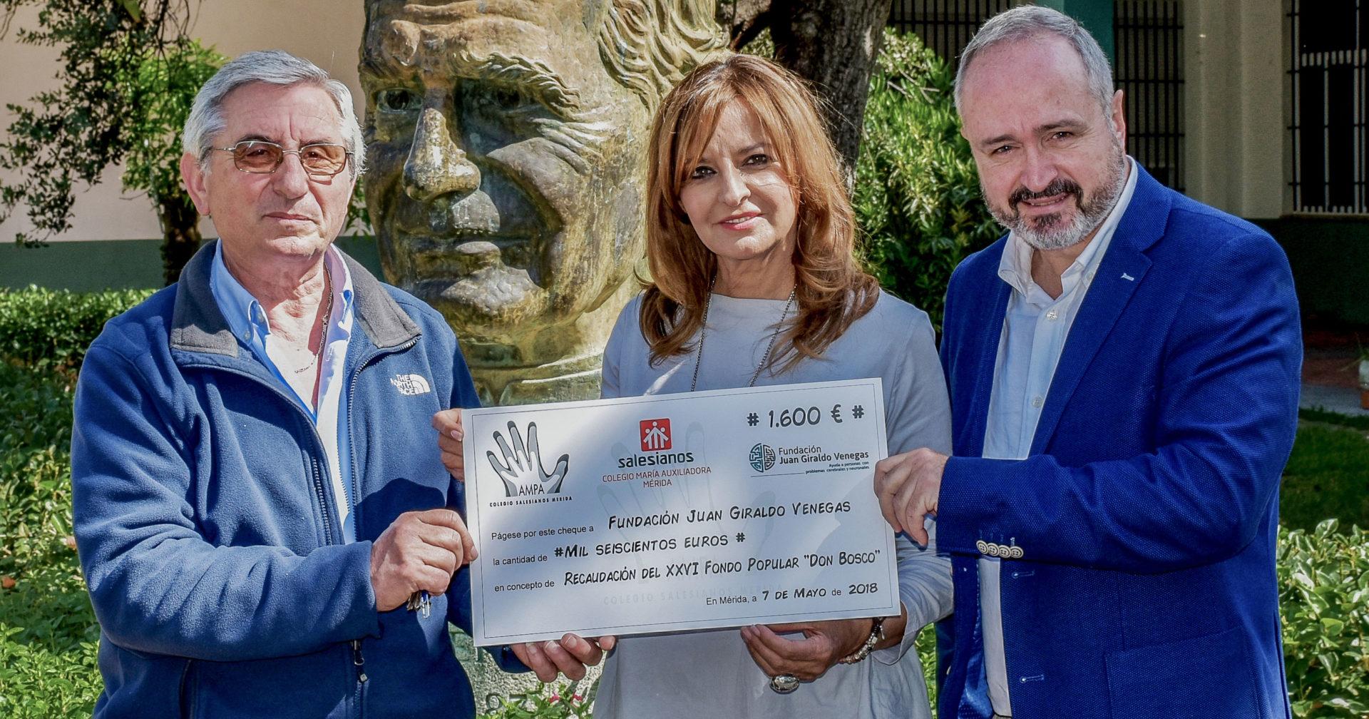 La AMPA de los Salesianos de Mérida recauda fondos para dos entidades locales