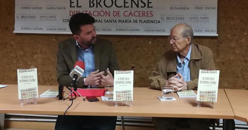 La Diputación de Cáceres publica 'Lo textil en el refranero español', de José Luis García Martín