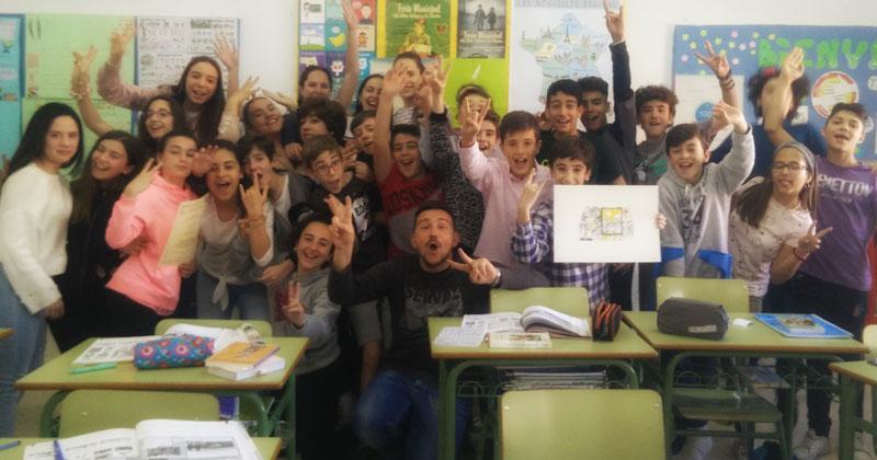 El colegio San José de Plasencia triunfa en el Festival de cine de La Almunia