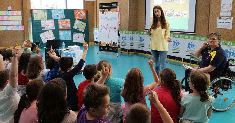El programa 'Come bien, vive mejor' llega a los colegios extremeños