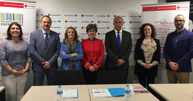 Cruz Roja y Carrefour impulsan la formación y el empleo