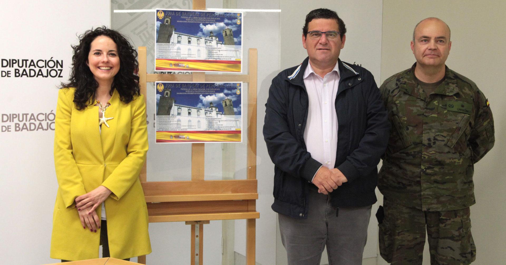 Fregenal de la Sierra acogerá un acto de Jura de bandera civil
