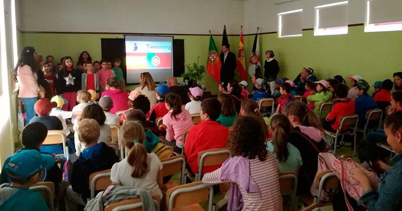 La Reserva Tajo-Tejo acoge un encuentro transfronterizo entre escolares