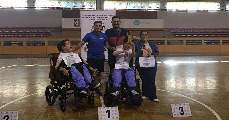 Cáceres ha acogido un torneo de boccia-petanca organizado por Cocemfe