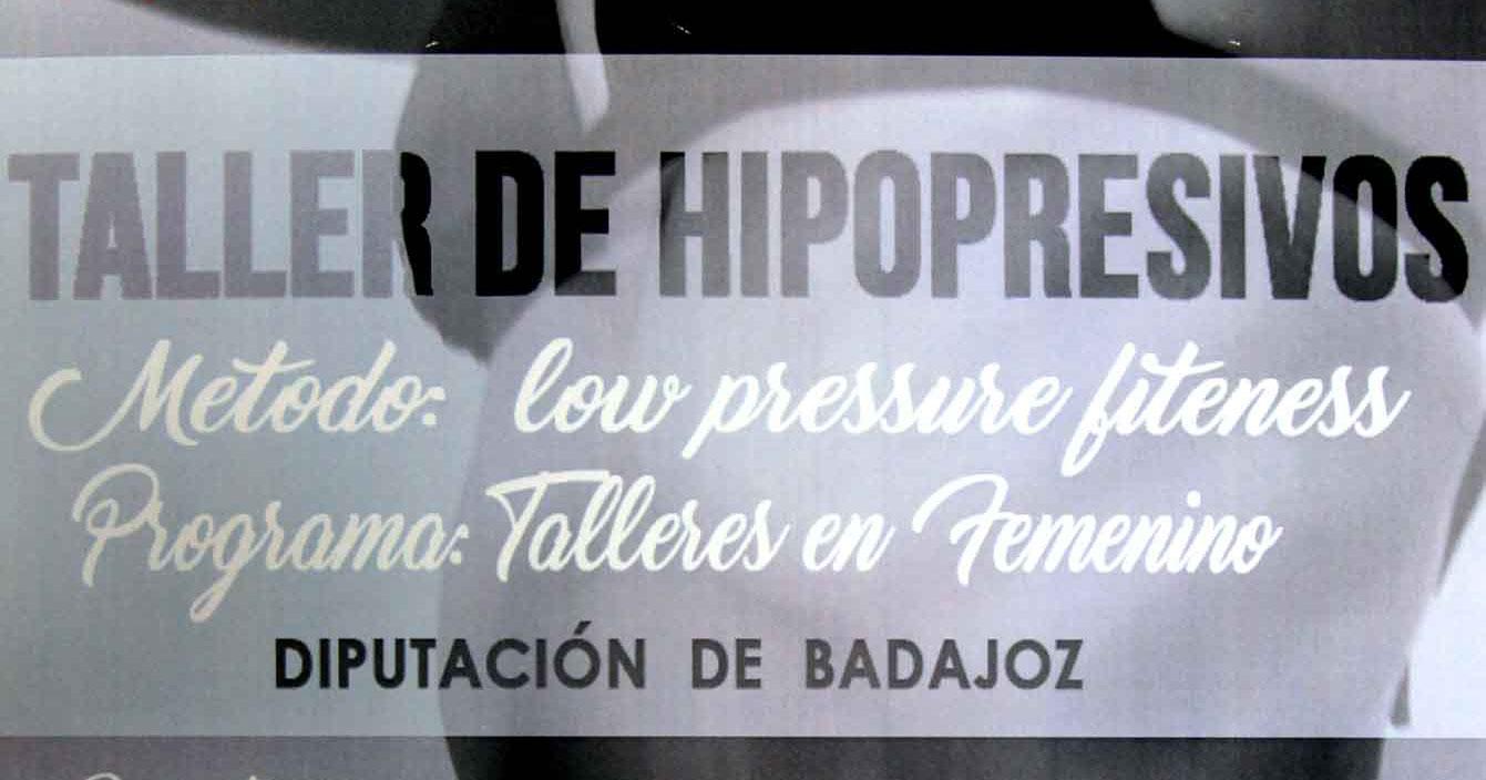 La Diputación de Badajoz pone en marcha talleres hipopresivos