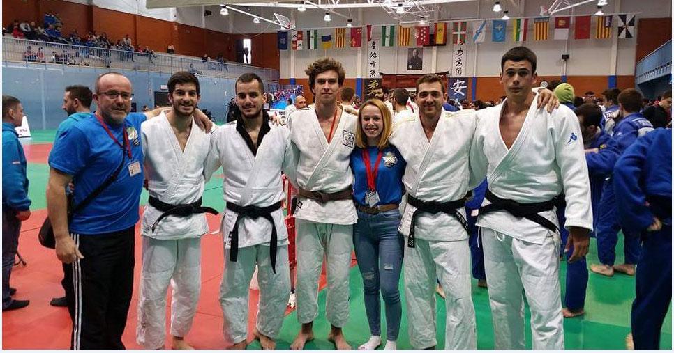 La escuela pacense de judo de Javier Linde disputa la Liga Nacional de Clubes