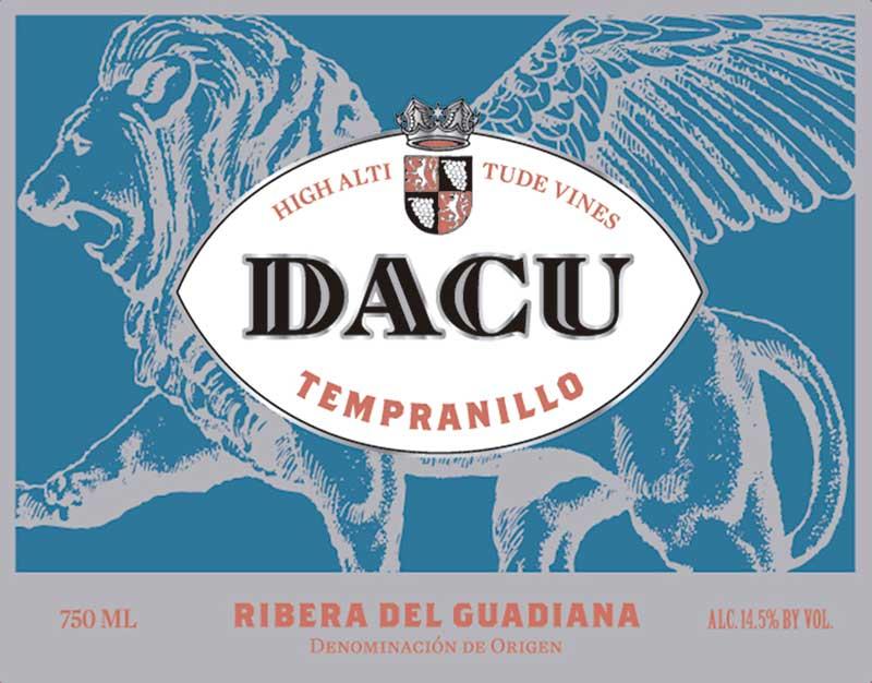 'Dacu'. Compañía de vinos del Atlántico. Grada 123. Enología