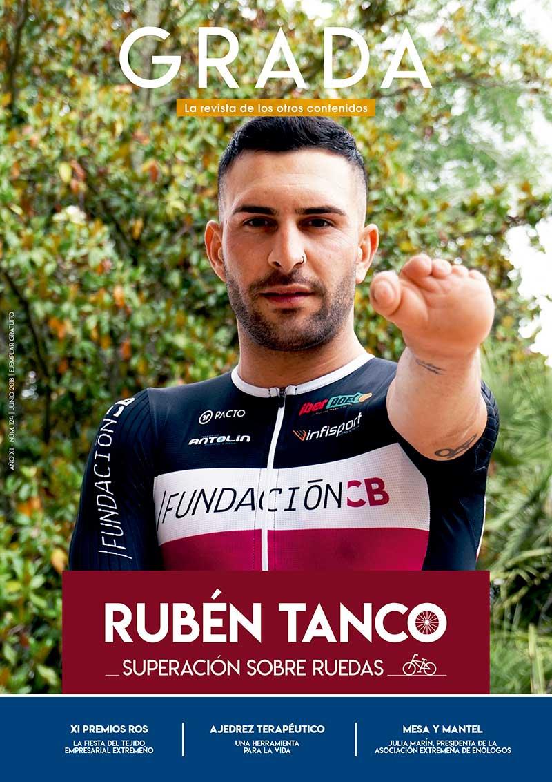 Rubén Tanco. Superación sobre ruedas. Grada 124. Portada