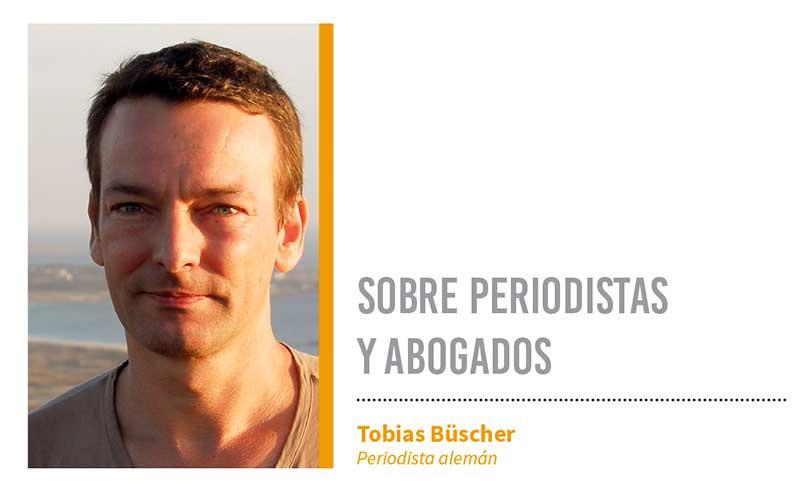 Sobre periodistas y abogados. Grada 124. Tobias Büscher
