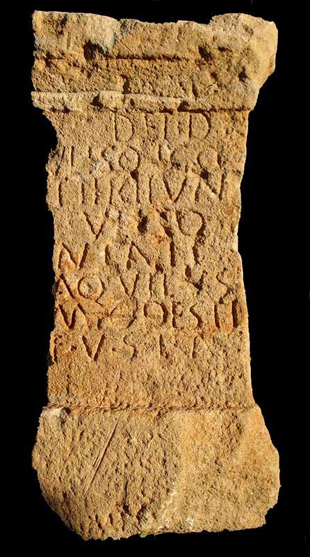 Los dioses de nuestros antepasados: Uliso y Ulisonia. Grada 124. Arqueología