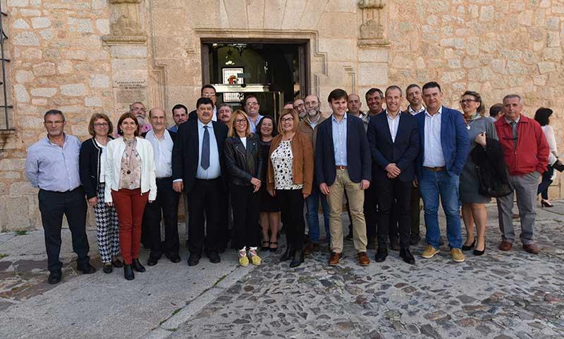 La Edusi para la ciudad de Cáceres y su área funcional recibe financiación europea. Grada 124. Diputación de Cáceres