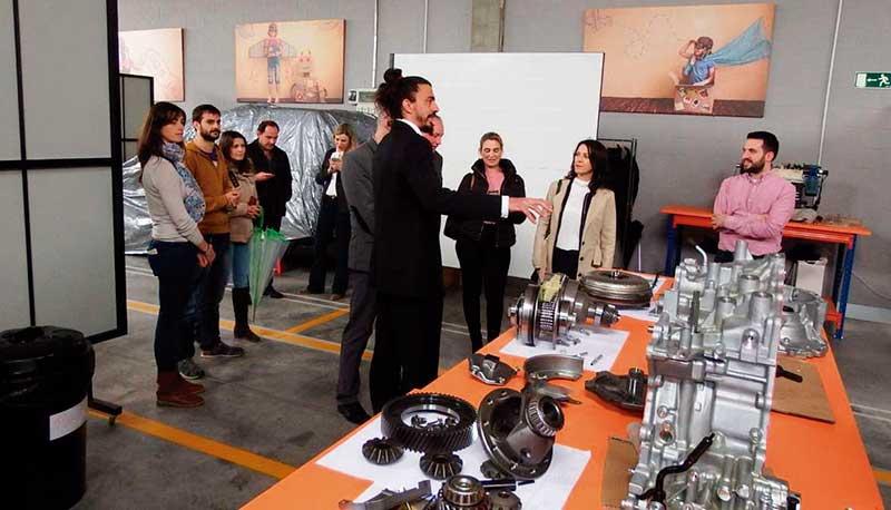 Doce contratados por el Plan de Empleo Joven han retornado para trabajar en Extremadura. Grada 124. Sexpe
