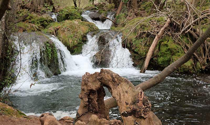 Cascadas del río Huéznar, hay otra Sevilla. Grada 124. Viajes