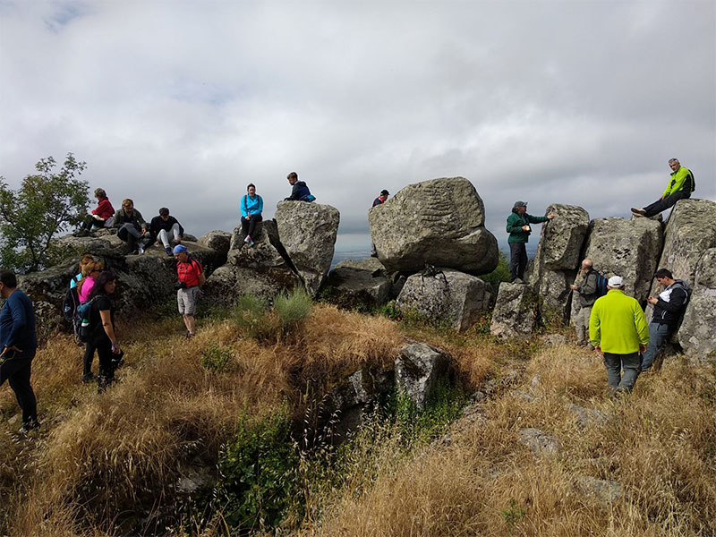 Adicomt llevó a cabo su cuarto paseo didáctico por el Cerro de San Gregorio