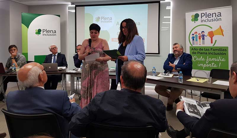 La extremeña Maribel Cáceres formará parte de la junta directiva de Plena inclusión España