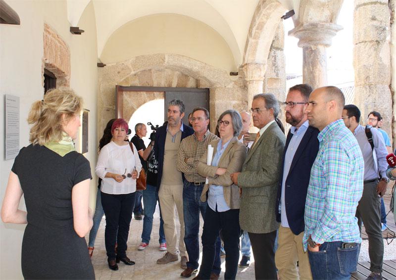 El centro de interpretación del Templo de Diana-Palacio de los Corbos de Mérida abre sus puertas