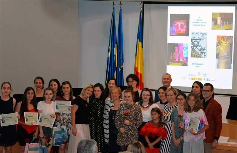 El certamen de relato breve 'Felipe Trigo en Timisoara' alcanza su quinta edición