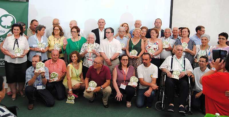 Plena inclusión Extremadura homenajea a representantes históricos de sus entidades