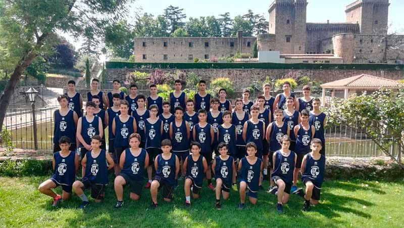 El X Campus de verano del Baloncesto Ciudad de Badajoz concluye en Jarandilla