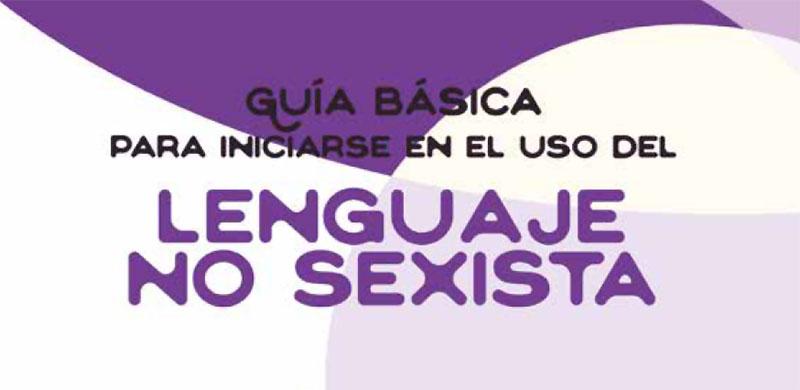 El Ayuntamiento de Casar de Cáceres elabora una guía sobre el uso de lenguaje no sexista