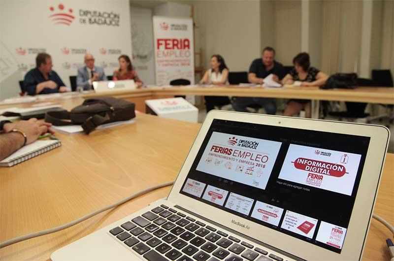 Comienza la IV Feria de Empleo, Emprendimiento y Empresa en Talavera la Real