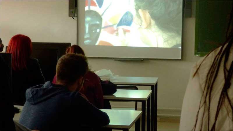 Por amor al arte proyecto audiovisual Colectivo Cala y la Easd Mérida