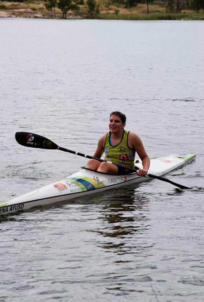 Elena Ayuso consigue una nueva medalla de oro en la regata de Mérida