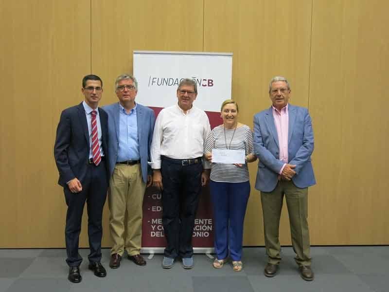 Fundación CB entrega la recaudación del concierto de Año nuevo a la Asociación Oncológica de Extremadura