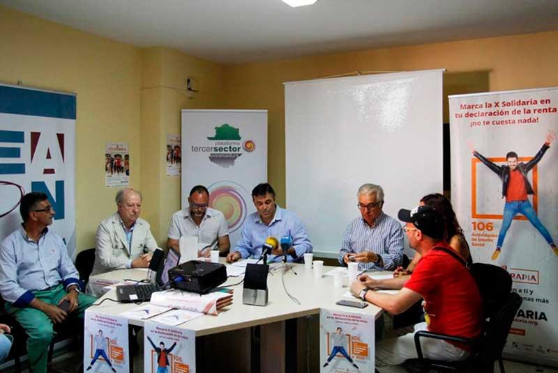 Finaliza la campaña de la Plataforma del Tercer Sector sobre la 'X Solidaria'