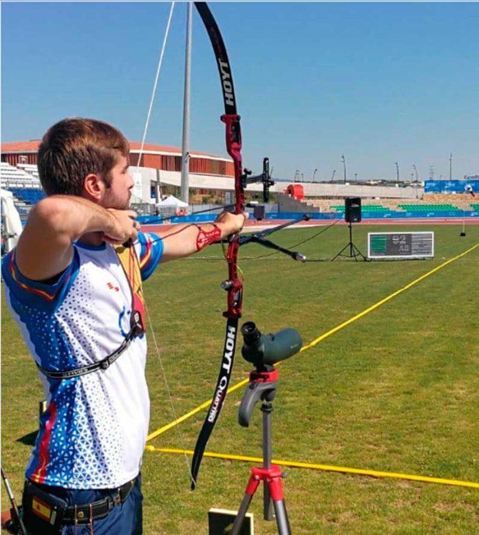 Yiyo Juegos del Mediterraneo tiro con arco