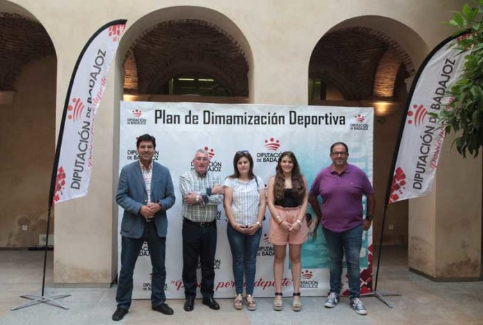 dinamizacion deportiva Diputacion Badajoz