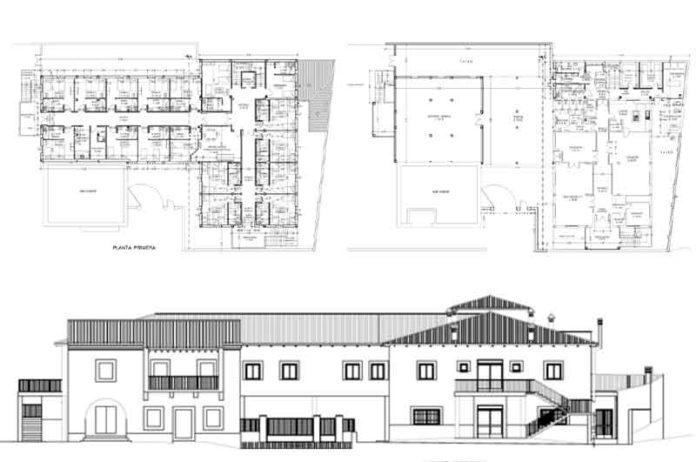 centro de dia y residencia geriatrica de Caminomorisco