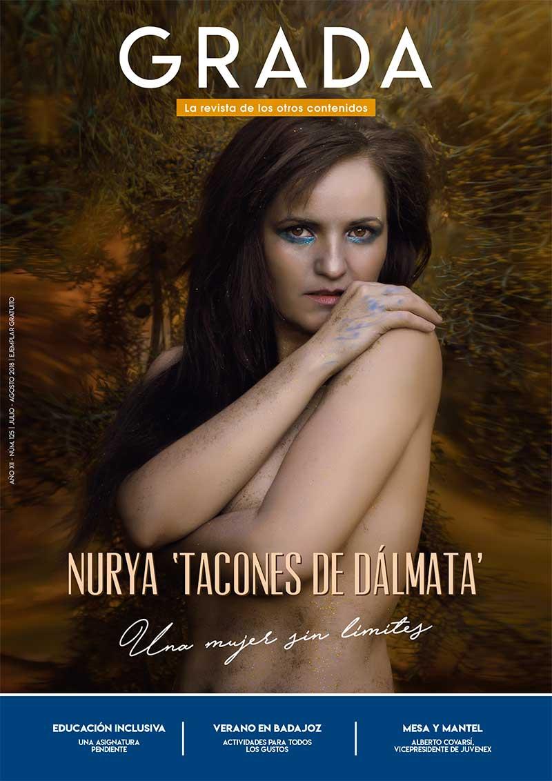 Nurya 'Tacones de Dálmata'. Una mujer sin límites. Grada 125. Portada