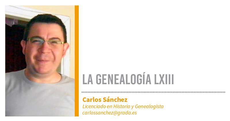 Genealogía LXIII. Grada 125. Carlos Sánchez